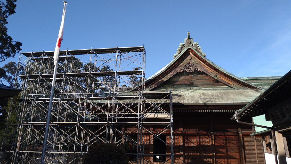 拝殿 東側面